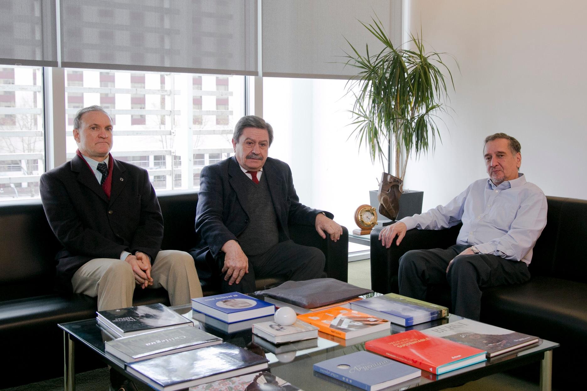 Reunión con el Ministro Dr. Lino Barañao