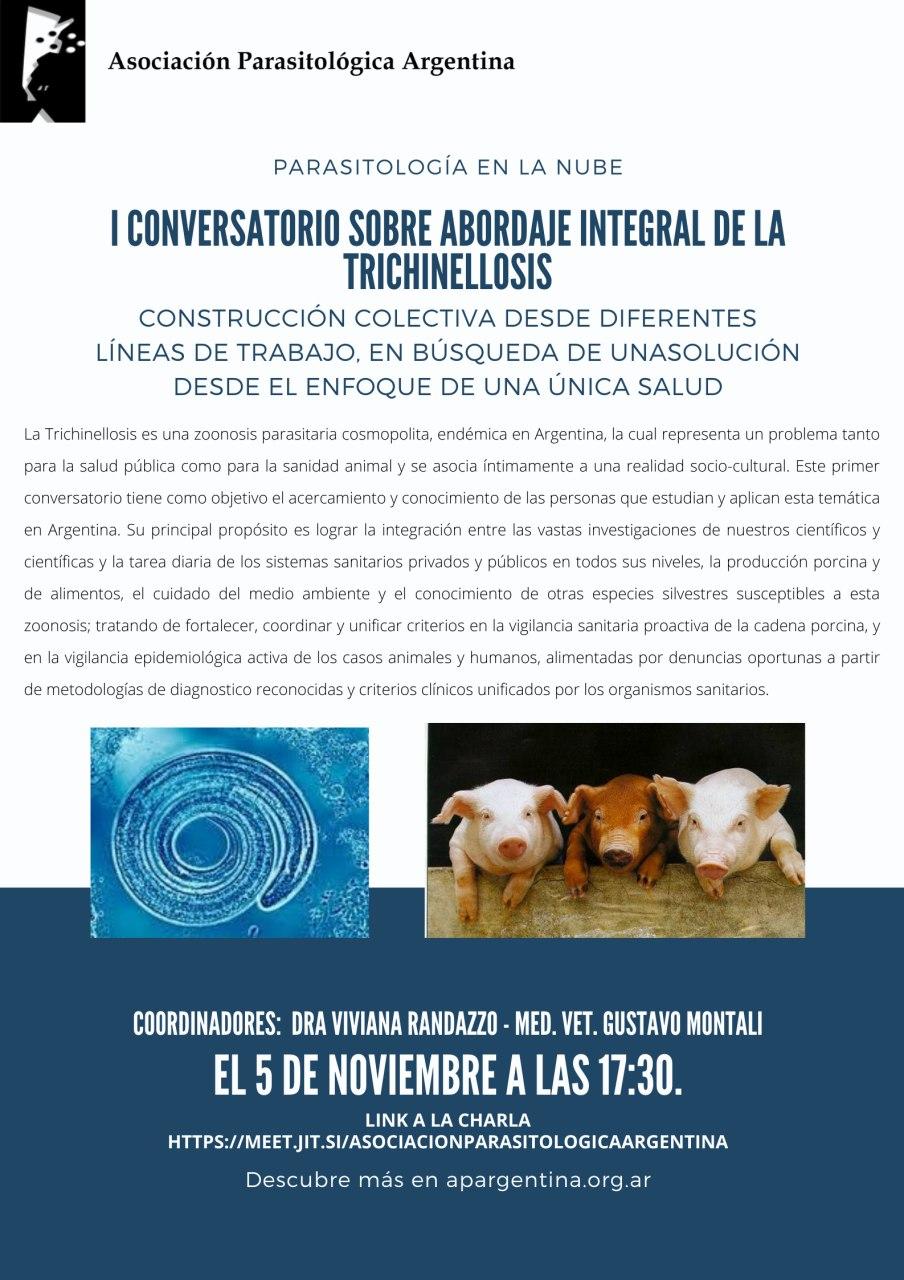 I CONVERSATORIO SOBRE ABORDAJE INTEGRAL DE LA TRICHINELLOSIS