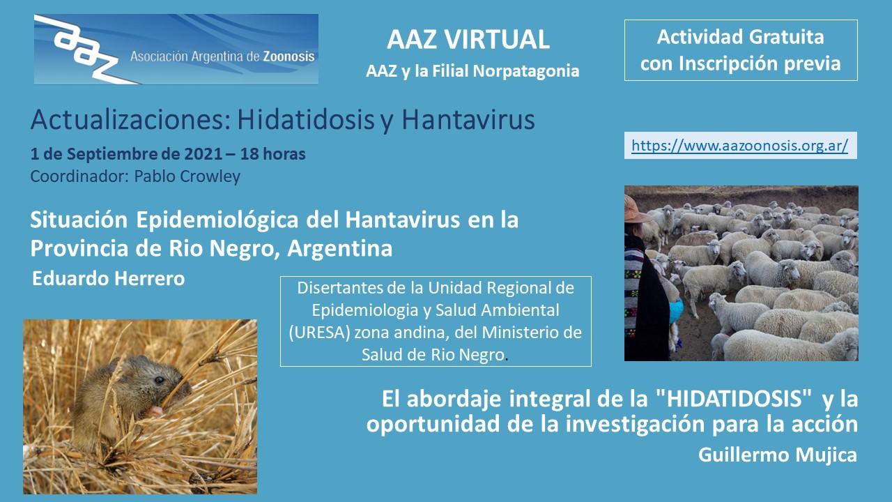 Actualizaciones: Hidatidosis y Hantavirus – AAZ VIRTUAL